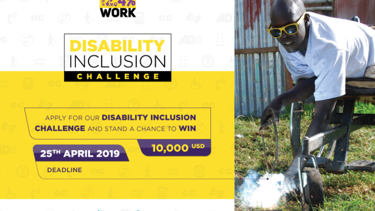 Our Disability Inclusion Challenge is Now Open!